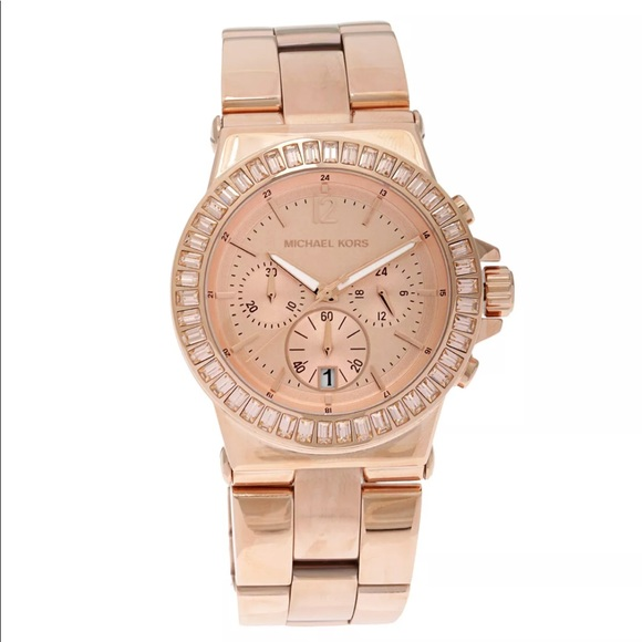 Michael Kors Rose Gold Watch MK5412 Bel Aire Dylan